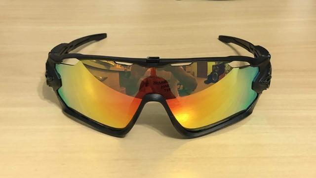 79c5c5b67c Oculos sol Oakley Jawbreaker 5 lentes Ciclismo Corrida Triathlon ...
