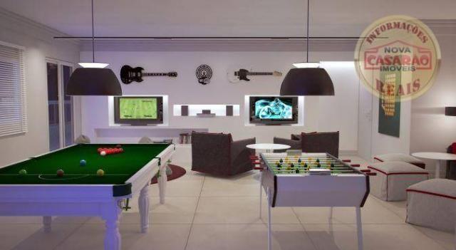 Apartamento com 2 dormitórios à venda, 72 m² por R$ 362.373 - Cidade Ocian - Praia Grande/ - Foto 17