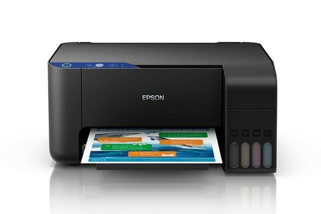 Multifuncional Epson L3110 Tanque de Tinta EcoTank Colorida, USB, Bivolt - Foto 2