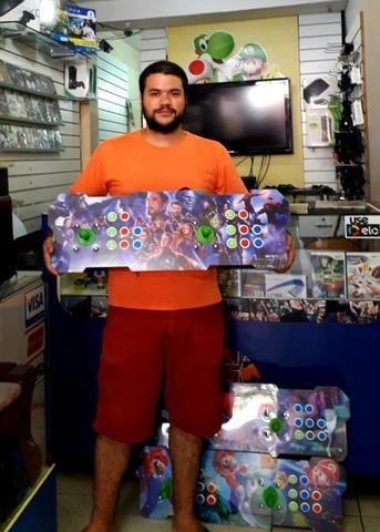 Fliperama Portátil com 20 mil jogos (30 vídeo game em 1)