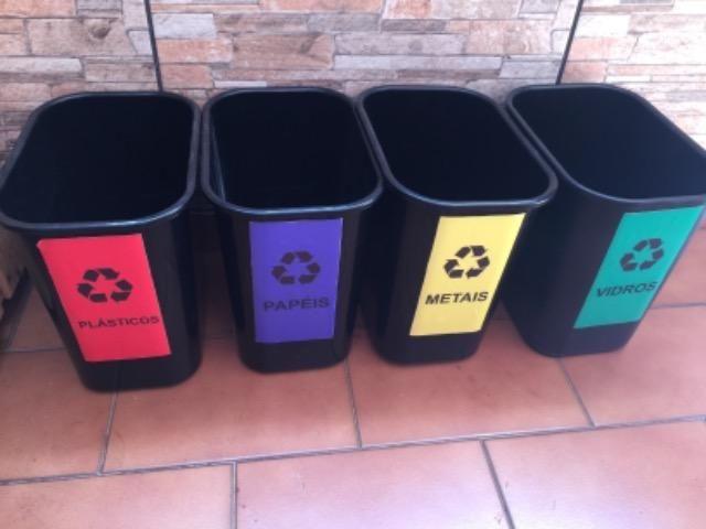 Cestos para reciclagem novo