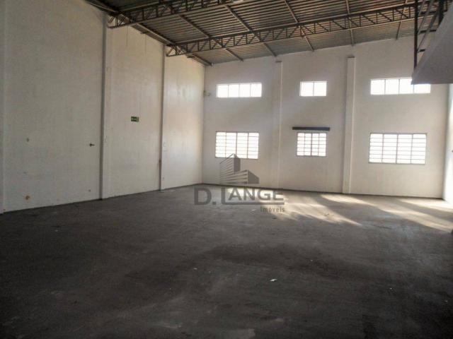 Barracão para alugar, 265 m² por r$ 4.200,00/mês - loteamento parque são martinho - campin - Foto 13