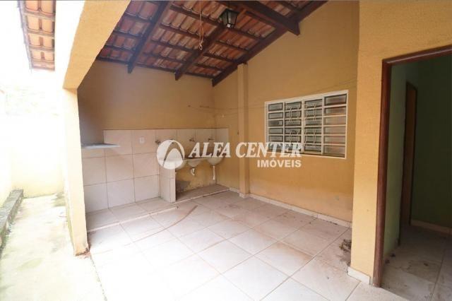 Casa com 2 dormitórios para alugar, 69 m² por R$ 900/mês - Jardim Helvécia - Aparecida de  - Foto 12