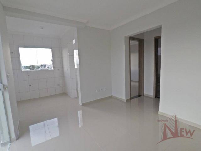 Excelente apartamento com 02 quartos no Cidade Jardim, São José dos Pinhais - Foto 4