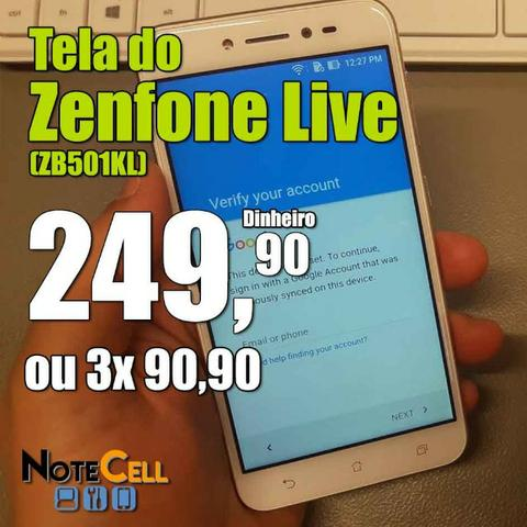Tela do Zenfone Live - (ZB501KL)