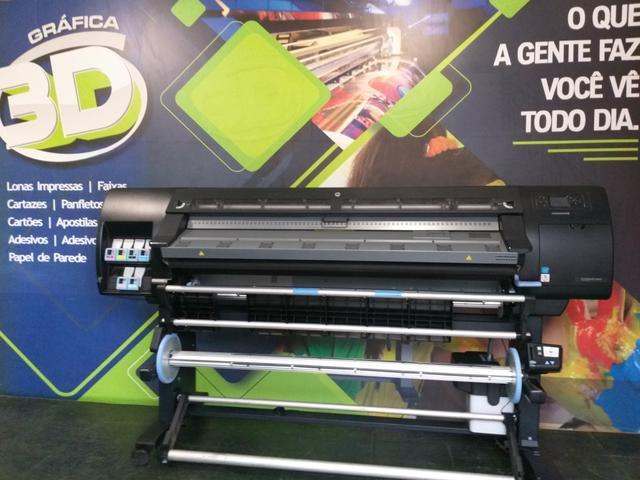 Plotter HP Latex L26500 impressora Lona e Adesivo