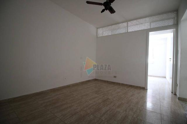 Apartamento com 1 dormitório para alugar, 45 m² por r$ 1.050/mês - tupi - praia grande/sp