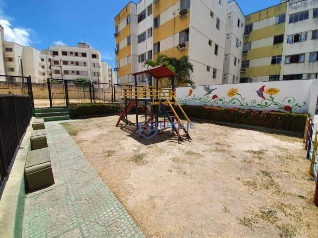 Apartamento com 3 dormitórios à venda, 64 m² por r$ 165.000 - cidade dos funcionários - fo - Foto 5