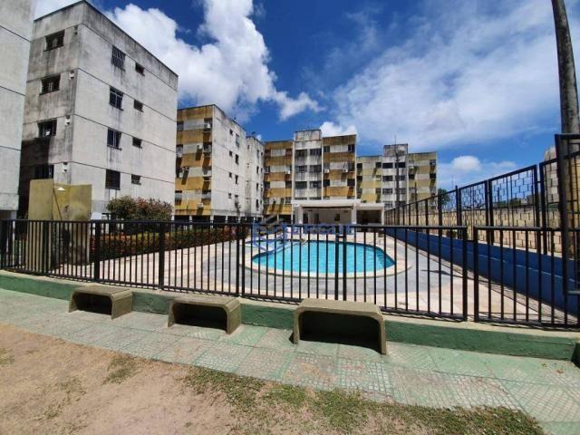 Apartamento com 3 dormitórios à venda, 64 m² por r$ 165.000 - cidade dos funcionários - fo