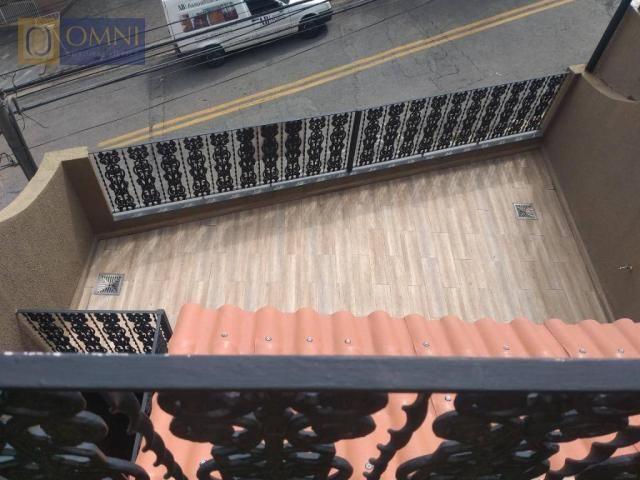 Sobrado com 4 dormitórios à venda, 208 m² por R$ 615.000,00 - Vila Valparaíso - Santo Andr - Foto 14