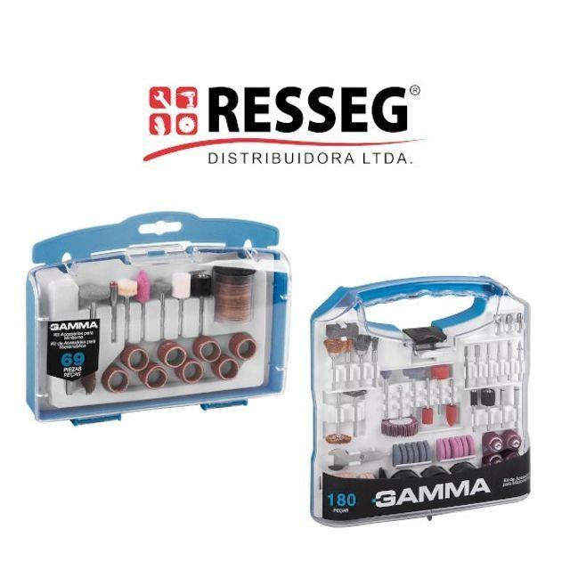 Kits de Acessórios para Micro Retífica - Gamma