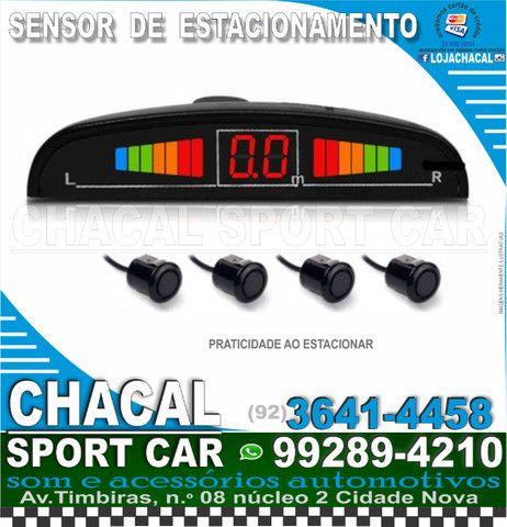 Sensor de estacionamento (cor preto) novo e com nota fiscal