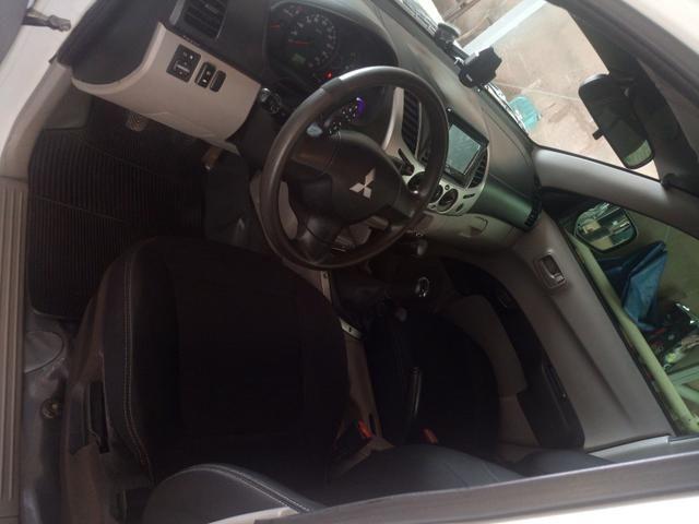Triton 3.2 4x4 diesel pra venda ou troca - Foto 11