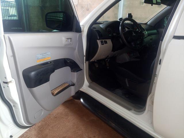 Triton 3.2 4x4 diesel pra venda ou troca - Foto 15