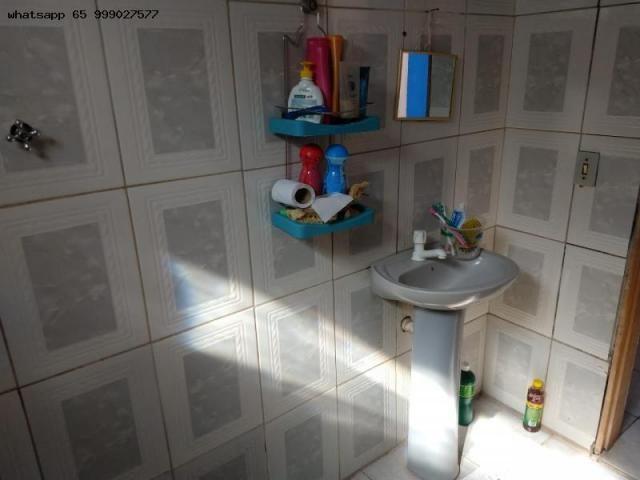 Casa Usada para Venda em Várzea Grande, 07 de maio, 2 dormitórios, 1 banheiro, 1 vaga - Foto 6