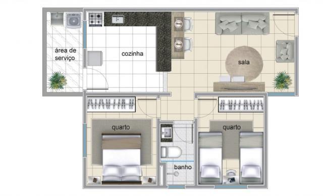 Apartamento à venda com 2 dormitórios em Serrano, Belo horizonte cod:IBH1785 - Foto 5