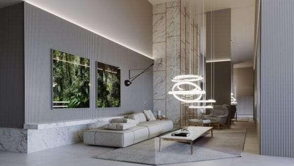 Sense Vertical Living - 115 a 151m² - Bairro Jardim das Acácias - Uberlândia, MG - Foto 8