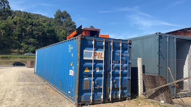 Container Dry 40 pés Pronta Entrega