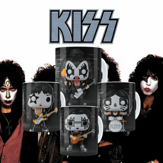 Canecas Colecionáveis Funko Pop Kiss!