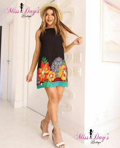 Vestidos viscolinho (com forro) - Foto 2