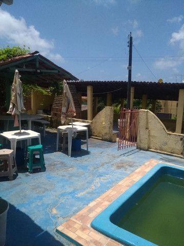 Casa com piscina e com pontos comerciais e 9 kitinetes na avenida em Itamaracá - Foto 9
