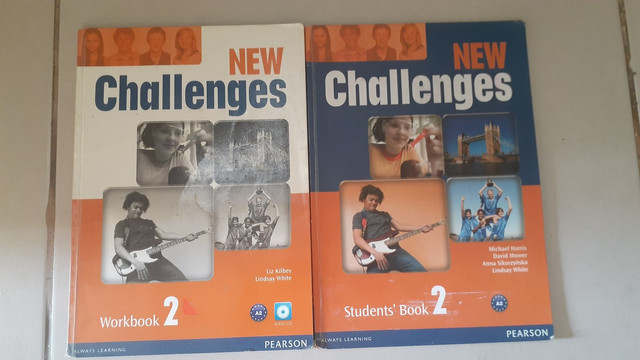 New Challenges A2 Student's Book 2 e Workbook com CD 2 Pearson