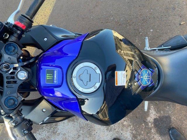 Yamaha r3 monster sem arranhão bem nova  - Foto 6