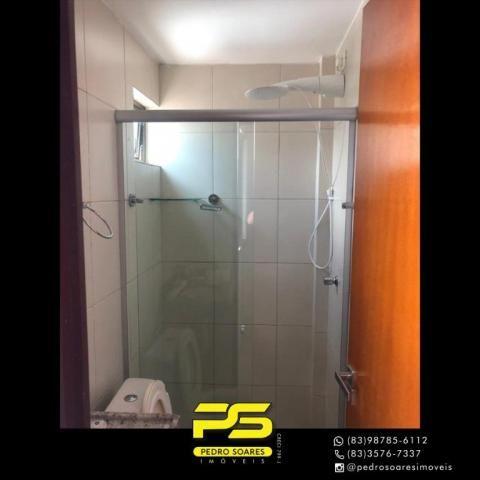 Apartamento com 2 dormitórios para alugar, 60 m² por R$ 1.700/mês - Altiplano Cabo Branco  - Foto 5