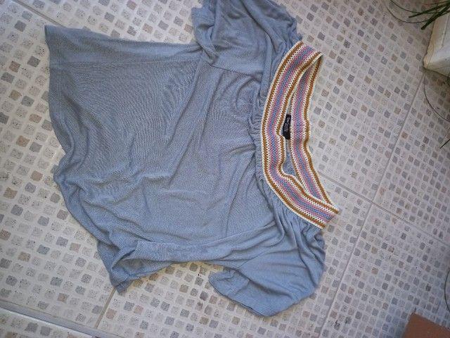 Vestido sort e blusa novos Tam M - Foto 3
