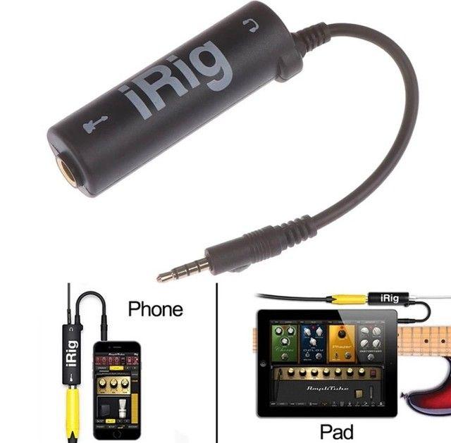 Interface Irig Guitar Adaptador Para Tablets E Smartphones