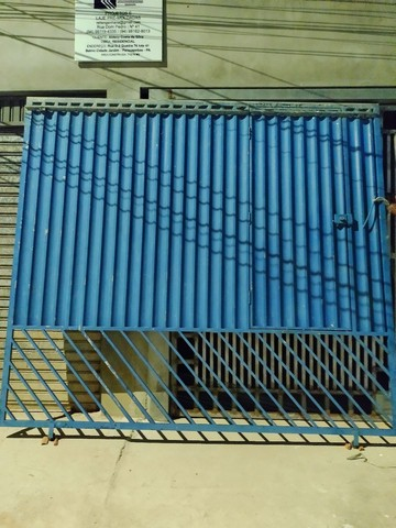 Portão de metalon, de 3x3 - Foto 2