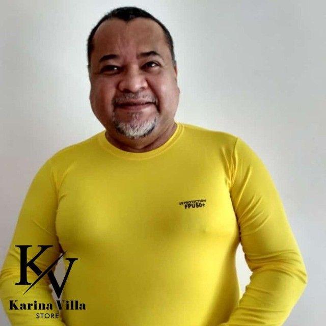 Camisas de Proteção UV Plus Size - Foto 5