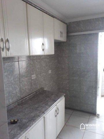Apartamento com 3 dormitórios para alugar, 64 m² por R$ 900,00/mês - Zona 08 - Maringá/PR - Foto 4