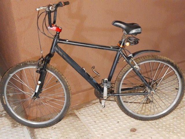 Bicicleta em alumínio com nota fiscal