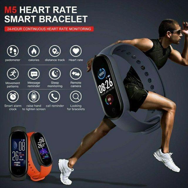 Relogio inteligente Smartwatch M5 - Foto 3