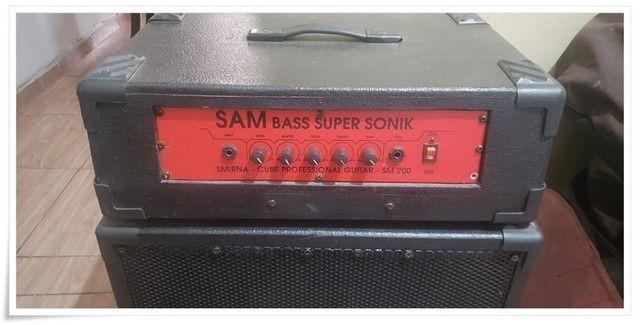 Sistema Amplificador Cabeçote para Contrabaixo Potente - Foto 3