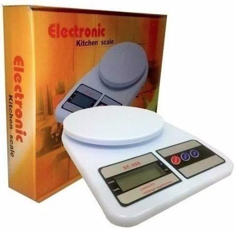 Balança Digital Eletrônica Pesa 1gr Até 10kg  - Foto 2