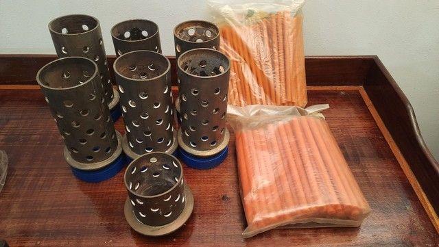 """Tubos de aço inox para fundição 3"""" X 18cm - Foto 2"""