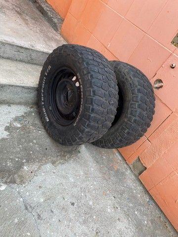 Jogo de pneus OFF ROAD  - Foto 4