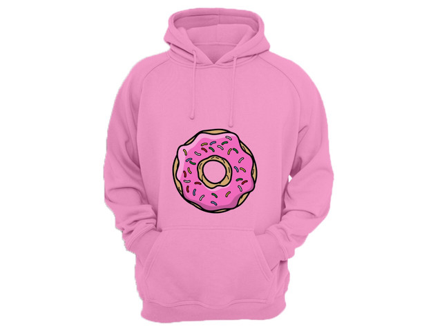 Moletom canguru com estampa Donuts - Foto 3