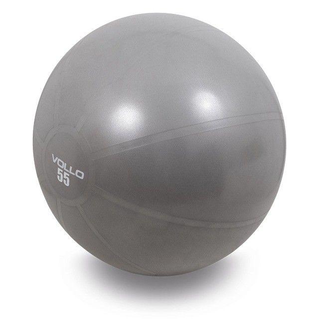 Bola de Pilates c/Bomba 55,65 e 75cm -Vollo - Foto 4