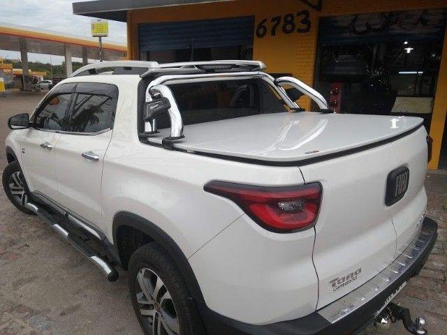 Tampao Aço Demovel elétrico HIlux Toro Ranger S10 Amarok SAveiro com instalacao - Foto 9