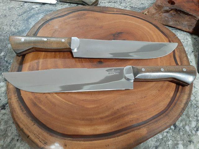 Faca para churrasco artesanal picanheiras - Foto 6