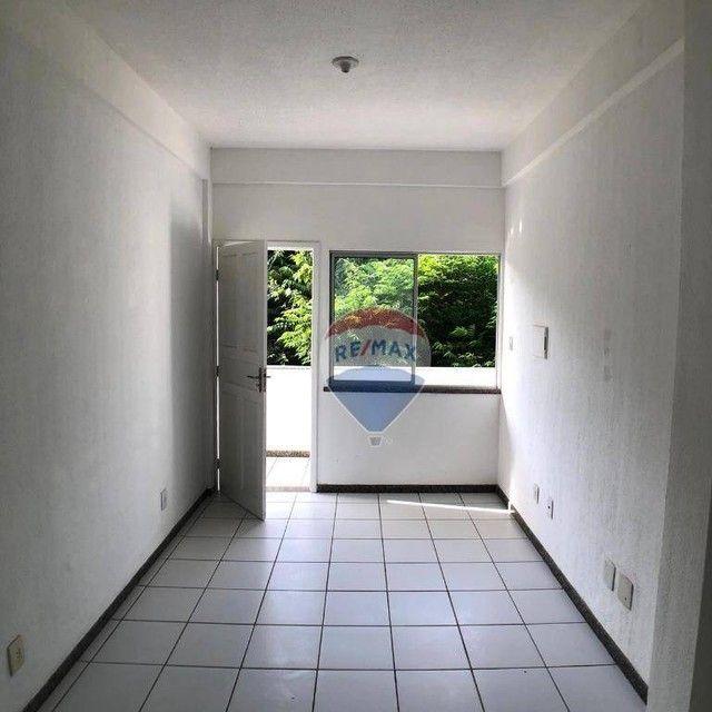 Apartamento com 2 dormitórios para alugar, 51 m² por R$ 820,00/mês - Edson Queiroz - Forta - Foto 3