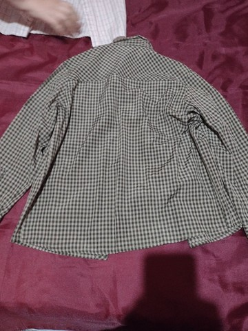 Camisa xadrez TEEN, cinza, nova. - Foto 2