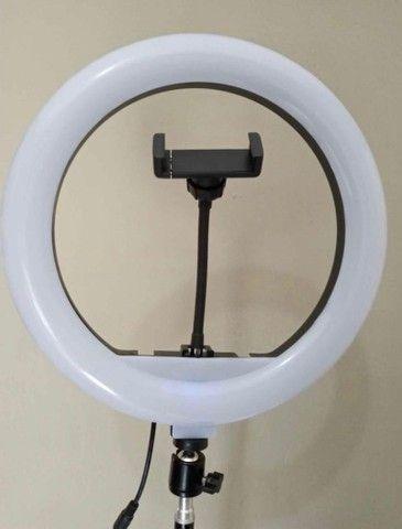 Ring Light de 36cm C/ Controle Remoto (Descrição)