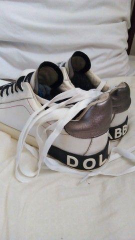 Tênis Dolce Gabbana Portofino 42 - Foto 3