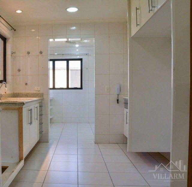 Apartamento com 4 dormitórios para alugar, 196 m² por R$ 5.700,00/mês - Vila Santo Estéfan - Foto 3