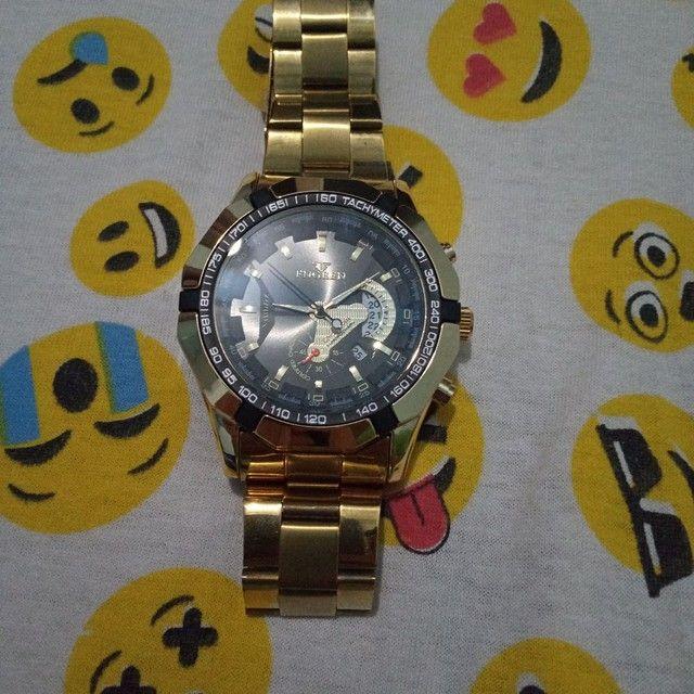 Relógio cor Gold - Foto 2