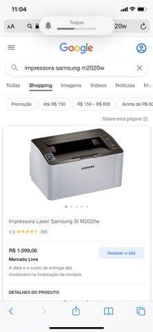 Impressora a laser Samsung Xpress M2020W - Foto 6